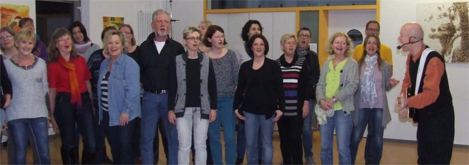 """""""Komm Singen!"""" - Veranstaltung mit Bernd und Barbara Sommer im KOMMzentrum"""
