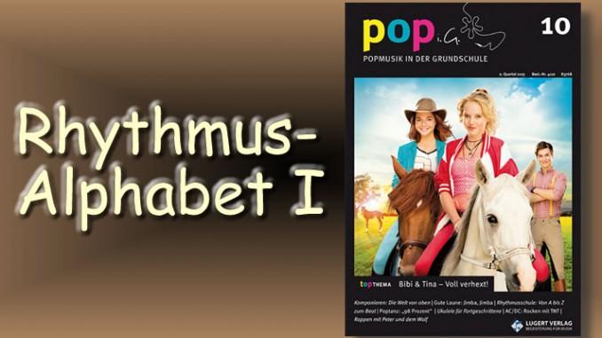 Rhythmus-Alphabet