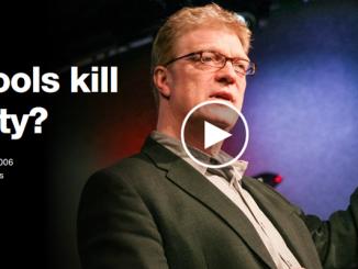 "Ken Robinson asks: ""Do Schools Kill Creativity?"""