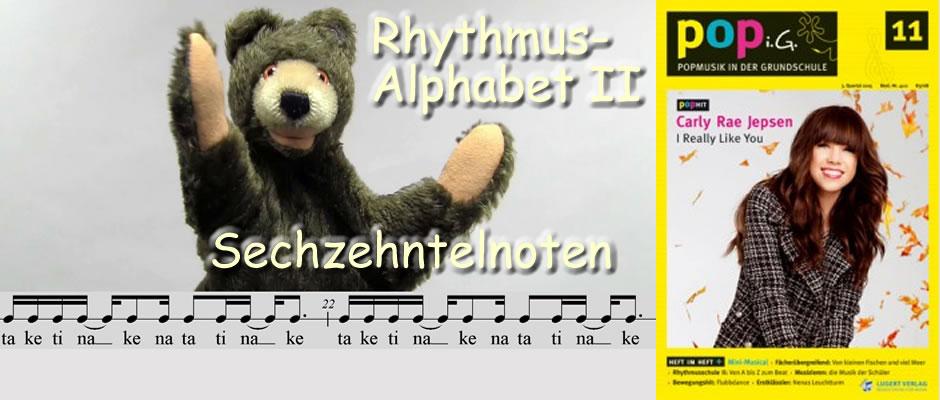 Rhythmus-Alphabet II