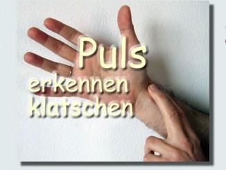Puls erkennen und klatschen