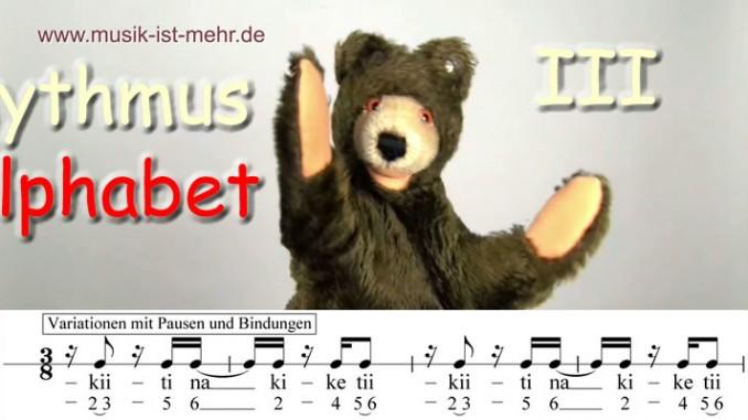 Rhythmus Alphabet III