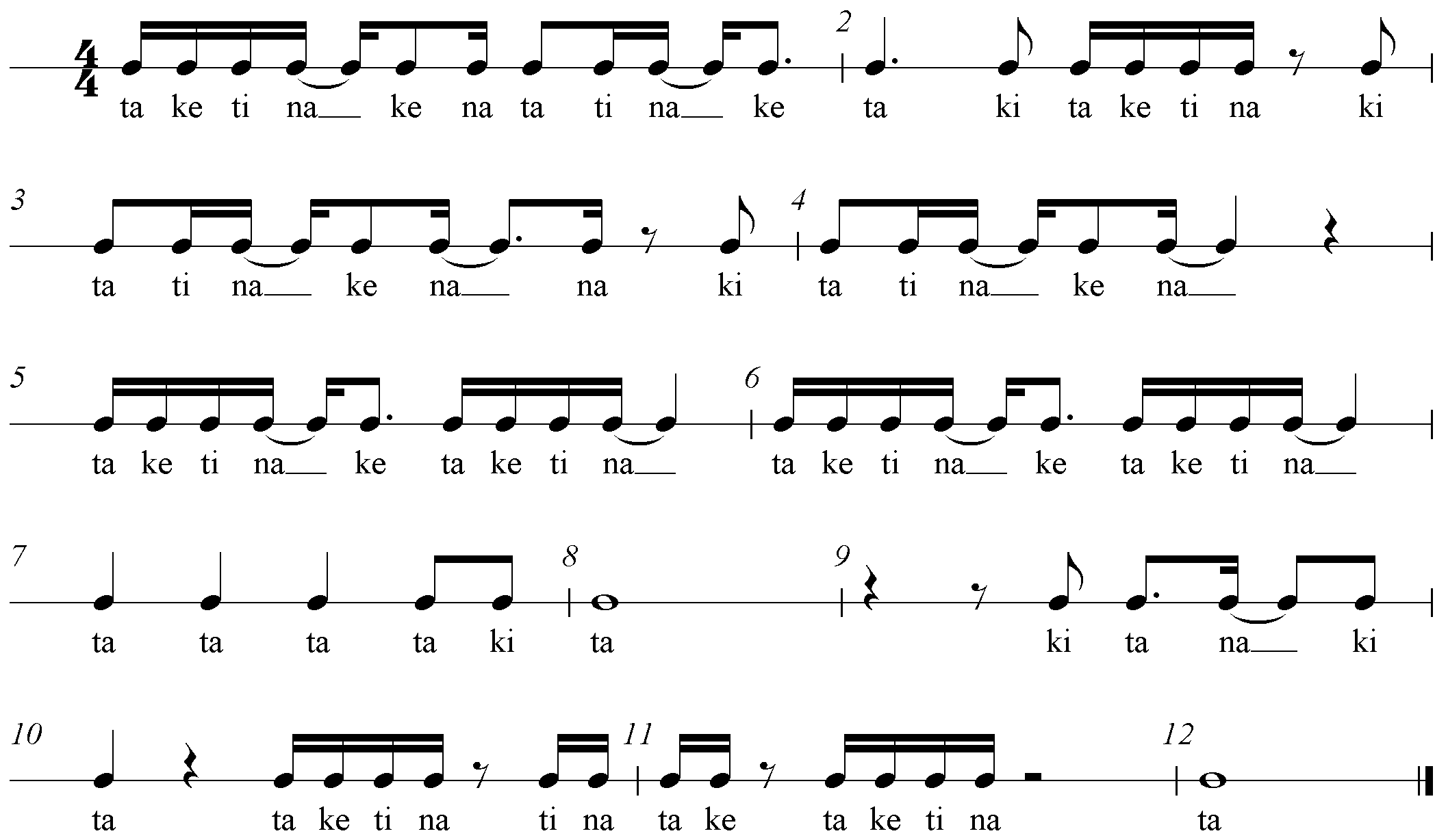 Unsere Klasse - Rhythmik. Lied für Grundschüler.