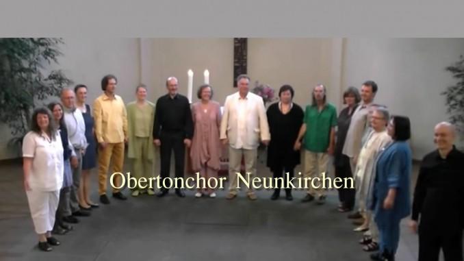 Obertonchor Neunkirchen - Nacht der offenen Kirchen - Pfingsten 2012 - 27.5.2012