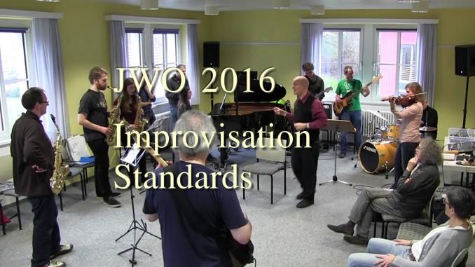 Jazzworkout 2016 - Improvisation über die Standards