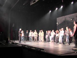 Musical STUMM 2016 - Einsingen vor der Vorstellung