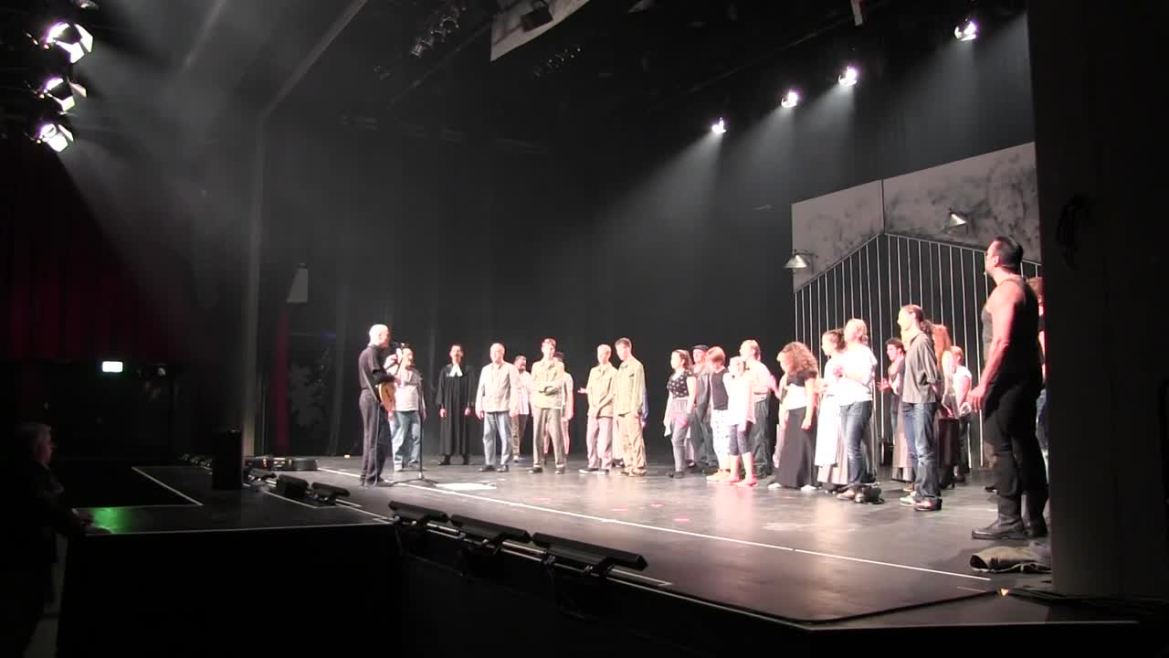 Beim Musical STUMM 2016