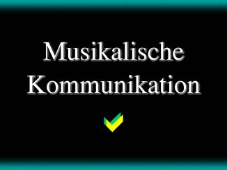 Wie musikalische Kommunikation gelingt