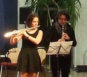 Saarländische Musikmentorenausbildung - Duo mit Flöte und Klarinette