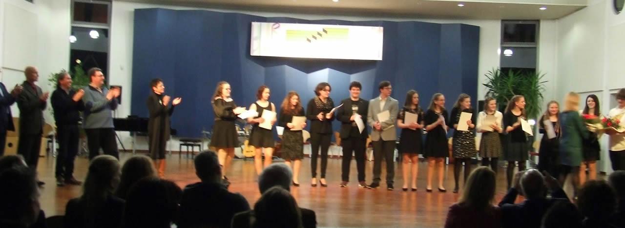Saarländische Musikmentorenausbildung - Verleihung der Zertifikate
