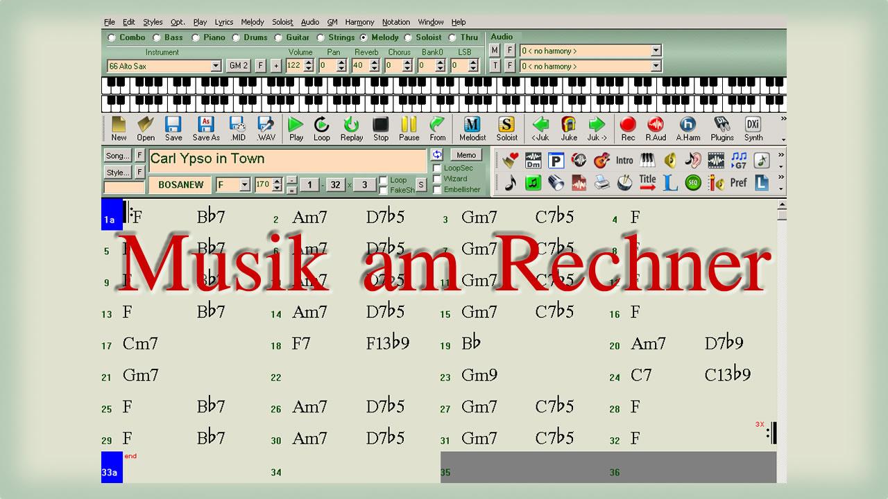Musik am Rechner - Bernd Michael Sommer