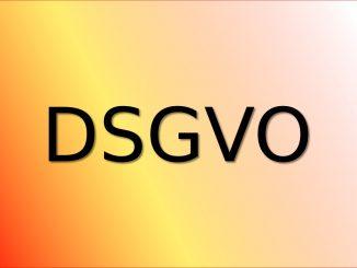 DSGVO - Datenschutzgrundverordnung - MUSIK IST MEHR - Dr. Bernd Michael Sommer