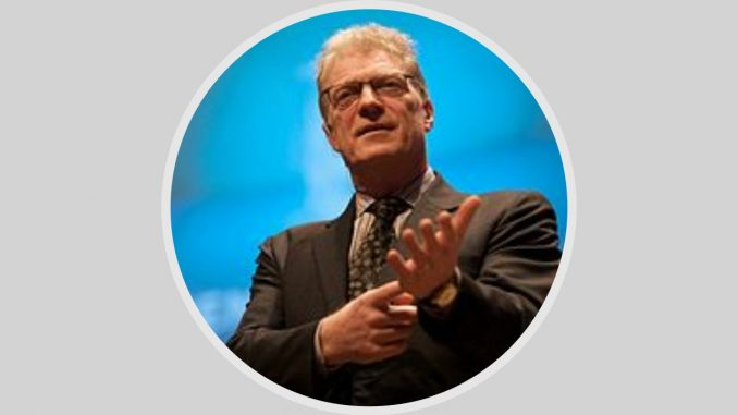 """• THEMA: Einen umfassenden Umbau unseres Schulsystems und einen höheren Stellenwert von Musik, Tanz und Kunst fordert Sir Ken Robinson • Sir Ken Robinson (1950-2020)ist ein visionärer Vordenker und weltweit anerkannter Experte für Kreativität. In einem denkwürdigen Vortrag bei TED (2006) beantwort er seine eigene Frage """"Do schools kill creativity?"""" mit einem klaren JA und fordert, unser Schulsystem radikal umzubauen."""